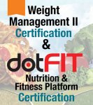 Weight Management Specialist II (Updated Edition) + dotFIT  Nutrition Certification
