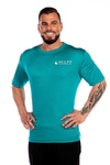NCCPT Mens True Sport Short Sleeve Pro Shirt Aqua