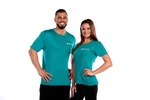 NCCPT Womens True Sport Short Sleeve Pro Shirt Aqua