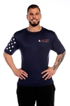 NCCPT Mens Stars and Stripes True Sport Short Sleeve Pro Shirt