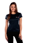 NCCPT Womens Stars and Stripes True Sport Short Sleeve Pro Shirt