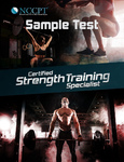 Certified Strength Training Specialist Sample Test