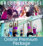 Certified Group Exercise Instructor Online Premium Study Package