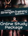 Certified Strength Training Specialist Online Study Package