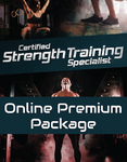 Certified Strength Training Specialist Online Premium Study Package